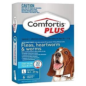 Comfortis Tablet for Large Dogs 18.1-27kg (Blue) – 6 Pack Click on image for further info.