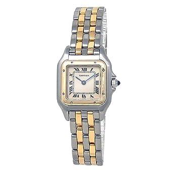 Amazon.com  Cartier Panthere de Cartier Analog-Quartz Female Watch ... 085ecc5ae