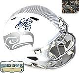 Eddie Lacy Autographed/Signed Seattle Seahawks NFL Speed Ice Full Size Helmet