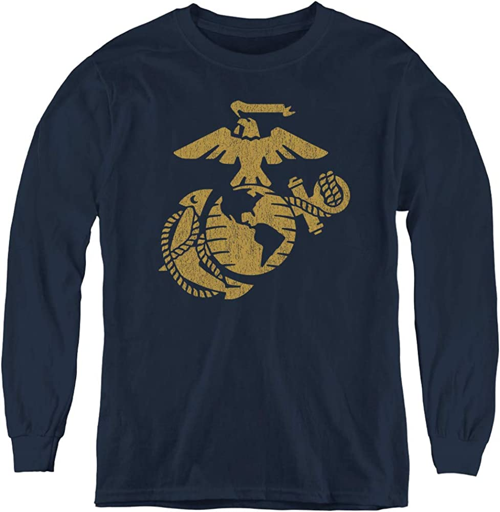 Us Marine Corps Youth Long Sleeve T Shirt
