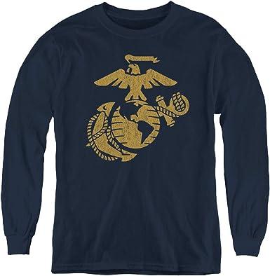 US Marines t-shirt black dark gray marine corp design men/'s marine corps tee