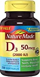 Nature Made Vitamin D3 2000 IU Softgels, 250 Ct Review