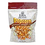 Eden Organic Yellow Popcorn, 20-Ounce Pouches (Pack of 12)
