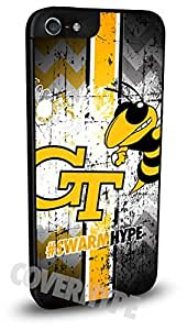 Georgia Tech Yellow Jackets Cell Phone Hard Plastic Case for iPhone 5c