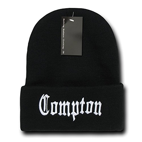 Nothing Nowhere City Compton Beanies, Black 2