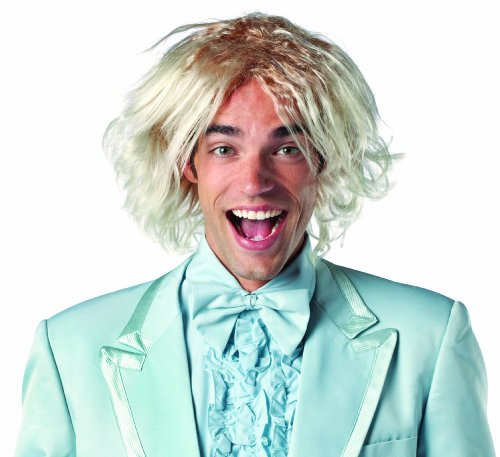 Rasta Imposta Dumb and Dumber Harry Dunne Wig Costume, Blonde, One Size -