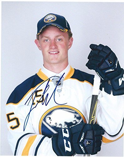 Jack Eichel Signed Buffalo Sabres 2015 Draft 8x10 Photo - Autographed NHL Photos (Sabres Photo Signed Buffalo Nhl)