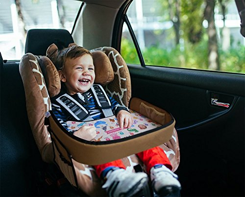 Toddler Activity Tray for Car Seat by Nytelse – Kids Travel Lap Tray ...