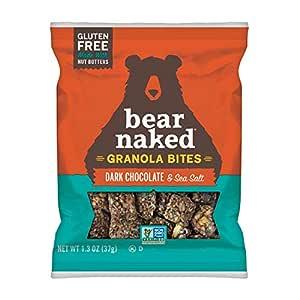 Bear Naked, Granola Bites, Dark Chocolate and Sea Salt, 7