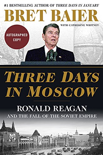 Three Days In Moscow   Signed Autographed Copy