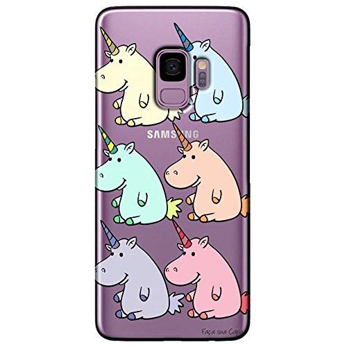 Capa Personalizada Samsung Galaxy S9 G960 - Unicórnios - TP311