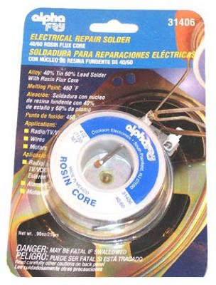 Alpha Fry AM31406 40/60 Electrical Rosin Core Solder - - Amazon.com