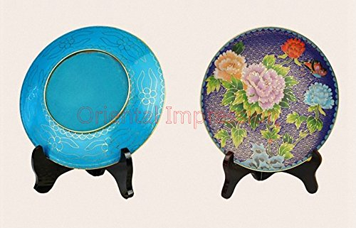 DYF Traditional Chinese Style, Cloisonne Plate, Hardcover Brass - - Business Gift,Meeting Gifts,Birthday Gifts,Culture Gift,Gift Package,Collection