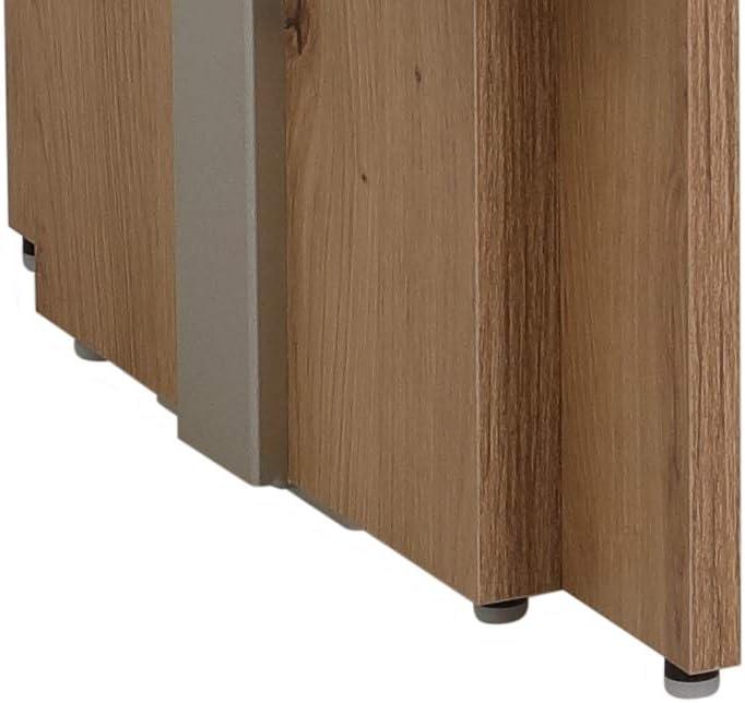 Couchtisch Jerome Dekor Artisan Eiche ausziehbar und h/öhenverstellbar mit Lift 110x68x53cm