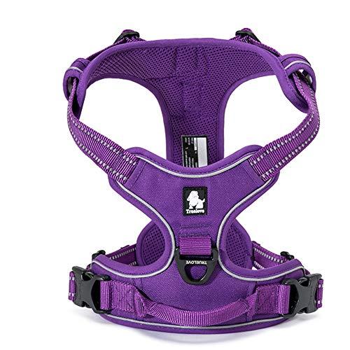 TRUE LOVE Adjustable No-Pull Dog Harness...