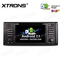 XTRONS 7 Android 7.1 Quad Core Capacitive Touch Screen Car Stereo Radio DVD Player Screen Mirroring Function OBD2 DVR for BMW 5 Series / 7 Series