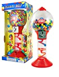 Sweet N Fun Metal Gumball Bank with Gumballs (200-Piece), 24''