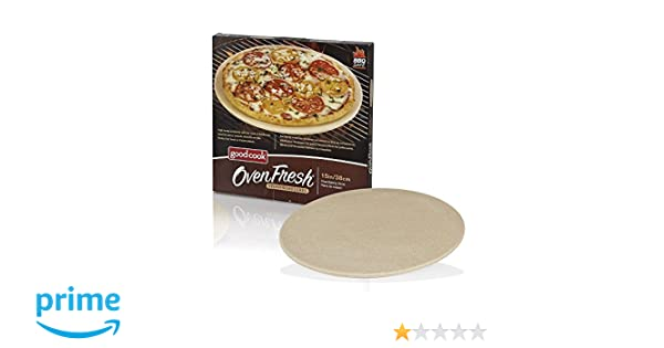 Amazon.com: Good Cook OvenFresh Stoneware BBQ Grill and Oven Pizza ...