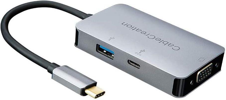 Cablecreation Usb Typ C 3 In 1 Usb C Auf Usb 3 0 Computer Zubehör