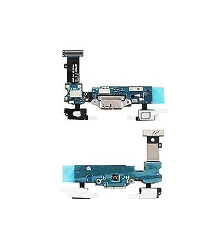 Conector Carga para Samsung Galaxy S5 G900 F micrófono Flat ...