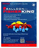 Balloon Fisher King 400 Multi-Clip Pro Pack with, 5-Inch, Balloons clips, 10-Pack