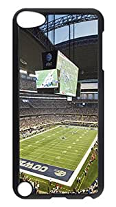 iPod 5 Cases, Hot Sale Personalized Dallas Cowboys Stadium Fun Protective Hard PC Plastic Black Edge Case Cover for Apple iPod Touch 5 5th Generation