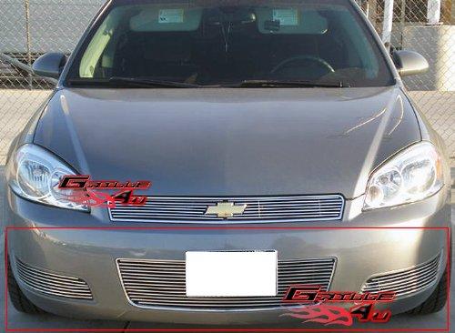 APS 2006-2013 Chevy Impala LT/LS W/O Fog Light Bumper Billet Grille Insert #S18-A94756C