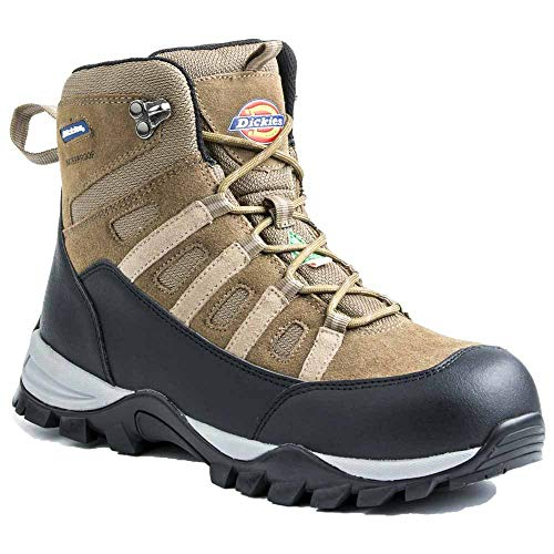 Dickies Men's Escape Hiker 6 Inch Steel-Toe Work Boot,Brown,12 M US
