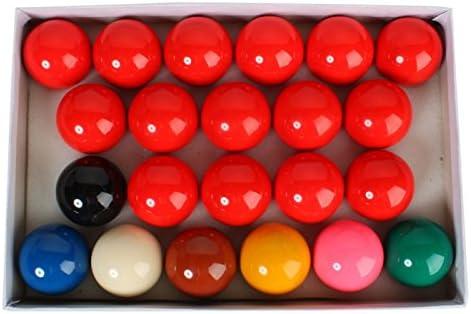 Mzamzi - Gran valor billar bolas 52.5mm delicado resina bola del billar set completo: Amazon.es: Deportes y aire libre