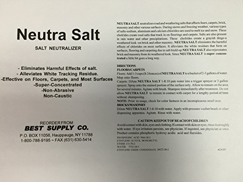 Neutra Salt Winter Rinse/4x1 Gallon