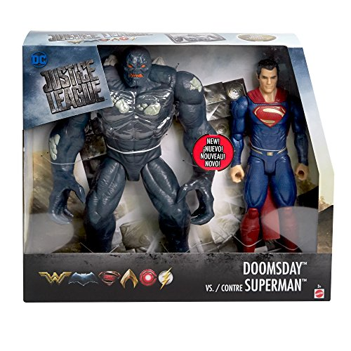 DC Comics Superman Vs. Doomsday s 2 Pack Action Figure