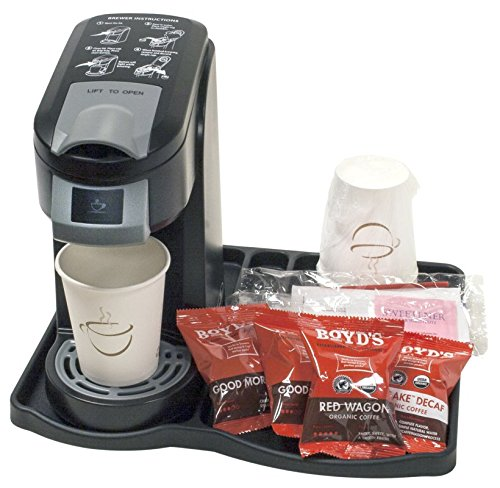 Single Cup Coffee Maker - Hotel Condiment Tray, case of 12 - Coffee Pigs