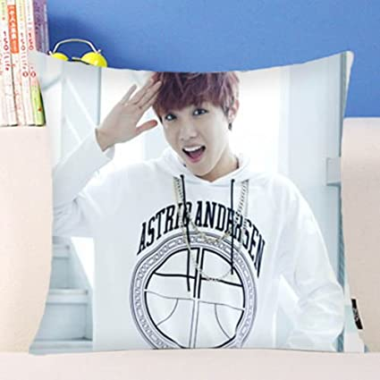 KPOP BTS Pillow Bangtan Boys Throw Hold Pillow Bolster Sofa Cushion Pillowcase