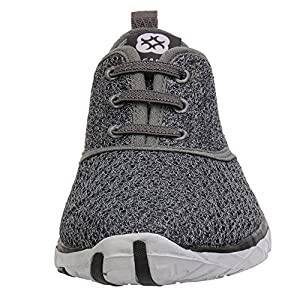 Aleader Women's Stylish Quick Drying Water Shoes Gray 7.5 D(M) US