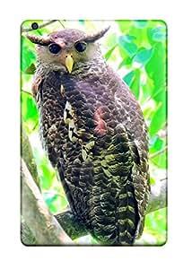 3967544K43702670 Awesome Design Spot-bellied Eagle Owl Hard Case Cover For Ipad Mini 3