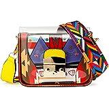 OCT17 Women Mini Transparent Jelly Purse PVC Plastic Cross body Durable Summer Shoulder Bag