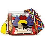 OCT17 Women Mini Transparent PVC Plastic Cross body Durable Summer Shoulder Bag