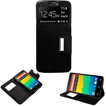 "Donkeyphone S1BXE531200 - Flip Cover para Bq Aquaris e5 / fnac 2 5"" HD y"