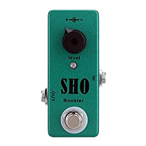 andoer sho booster electric guitar effect pedal mini single effect with clean boost. Black Bedroom Furniture Sets. Home Design Ideas