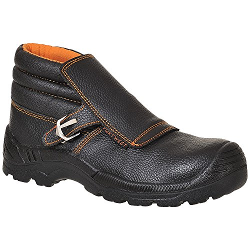 Portwest Black Welders Boot S3 FW07 xYBwxrv