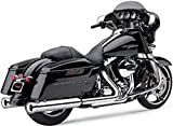 Cobra 4'' Neighbor Hater Slip On Mufflers Chrome 6107