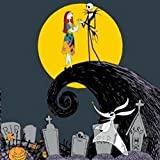 Christmas Curtains Disney Original Nightmare Before Christmas Classic Fabric Shower Curtain