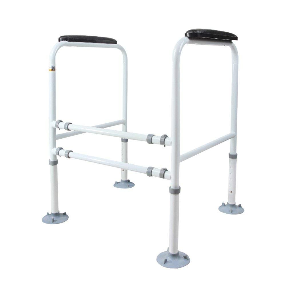 Doremy Bathroom Safety Toilet Rail Stand Alone Adjustable Handrail Frame Suction Cups for The Elderly and The Pregnant Weak Patients Disabled Postoperative Safe Support Aid 51VmSYptYxL._SL1000_