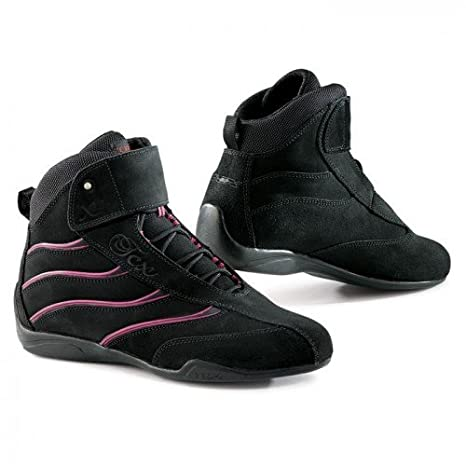 Black 40 TCX X-Square Lady Womens Street Motorcycle Boots