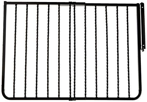 Cardinal Gates Wrought Iron Decor Gate,  Black