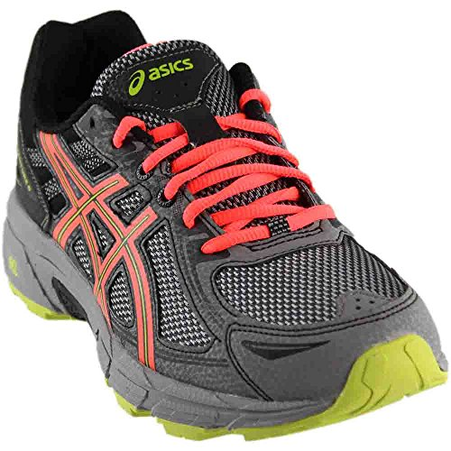 ASICS Women's Gel-Venture 6 Running-Shoes,Phantom/Coral/Lime,10 Medium US