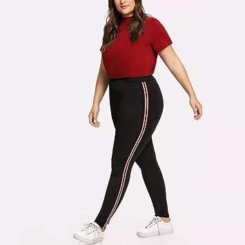 LUOLONG Pantalones De Yoga, De La Mujer De Cinta De Talle ...