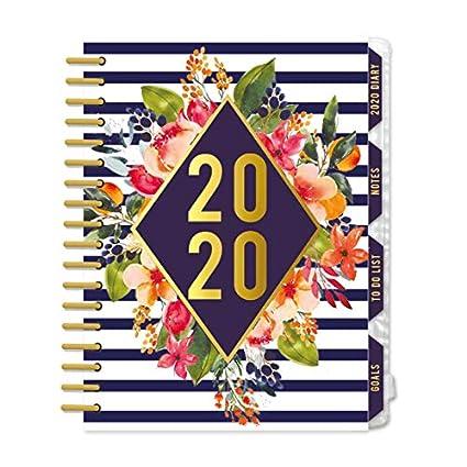 Agenda organizadora 2020 Odessia: Amazon.es: Oficina y papelería
