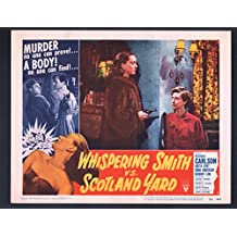 MOVIE POSTER: Whispering Smith vs. Scotland Yard Lobby Card #8-1952-Richard Carlson