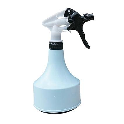 AOLVO plástico botella de agua pulverizador, pulverizador de mano presión riego maceta para casa jardín